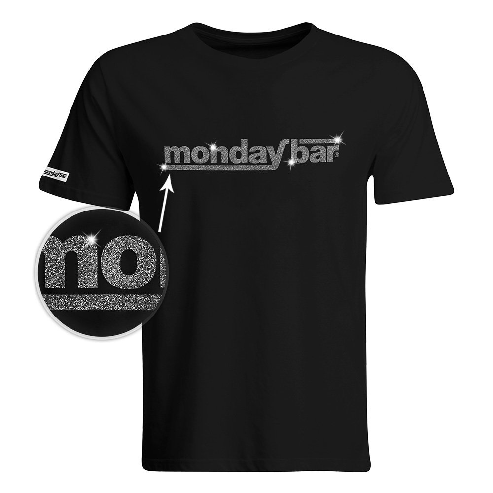 Official Monday Bar T-Shirt MAGIC GLITTER EDITION (Men) MB57421