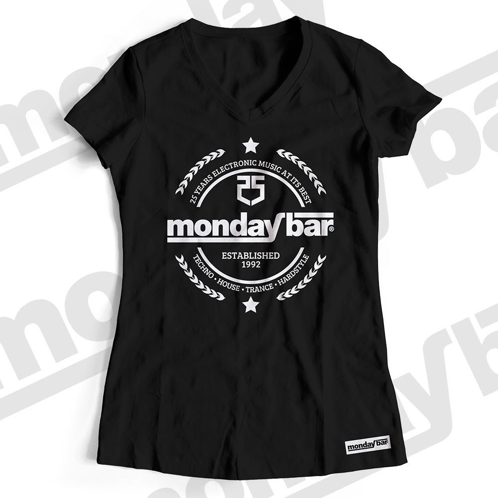 Monday Bar 25 Years Anniversary T-Shirt (Women) MB85787