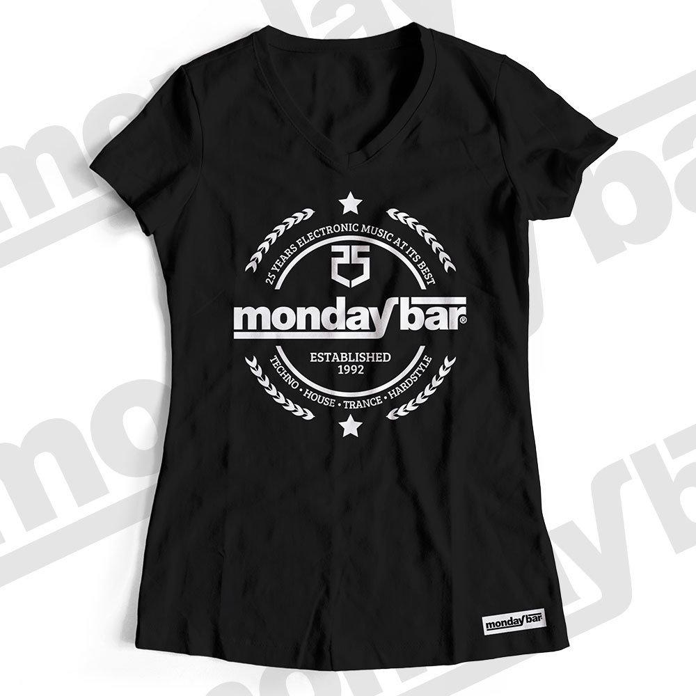 Monday Bar 25 Years Anniversary T-Shirt (Women) MB85787