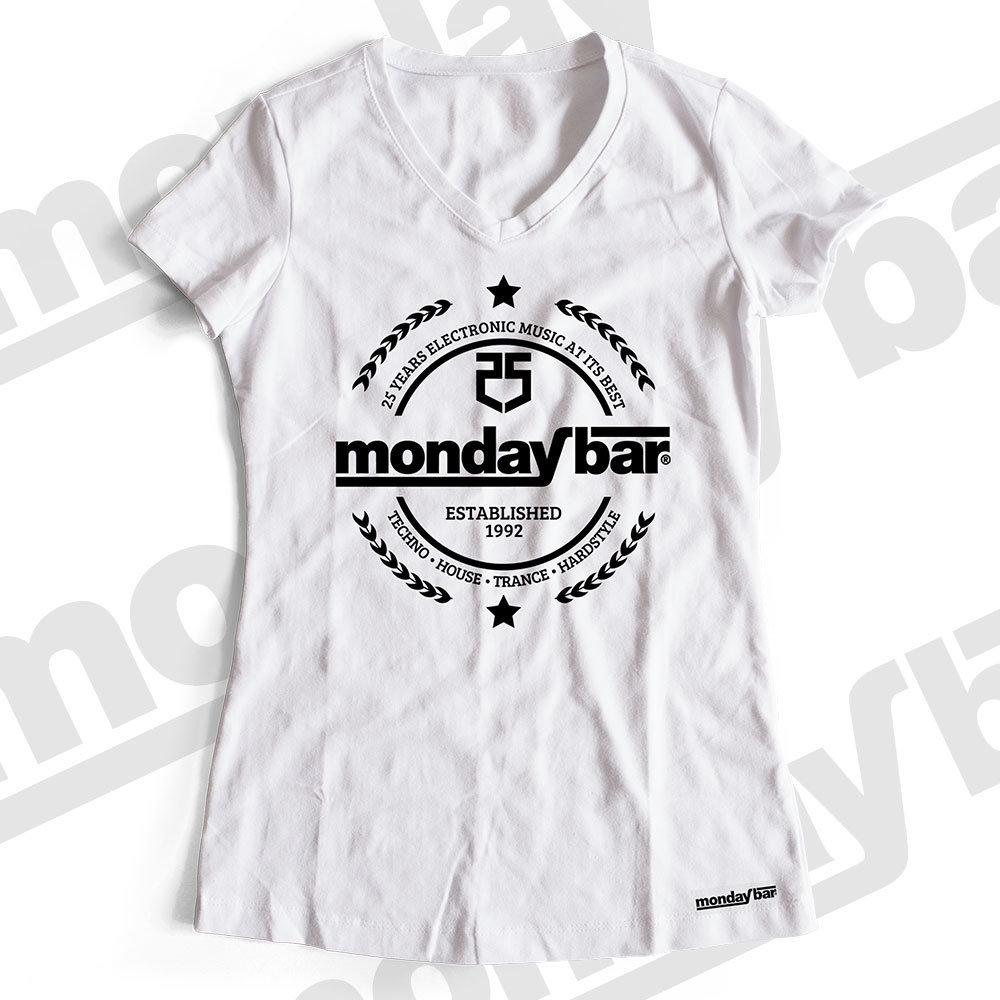 Monday Bar 25 Years Anniversary T-Shirt (Women)