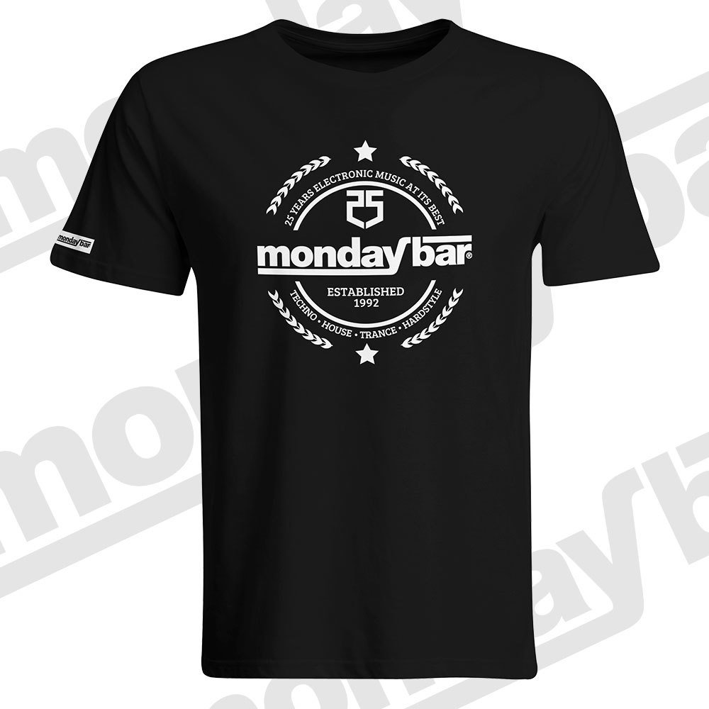 Monday Bar 25 Years Anniversary T-Shirt (Men) MB57467