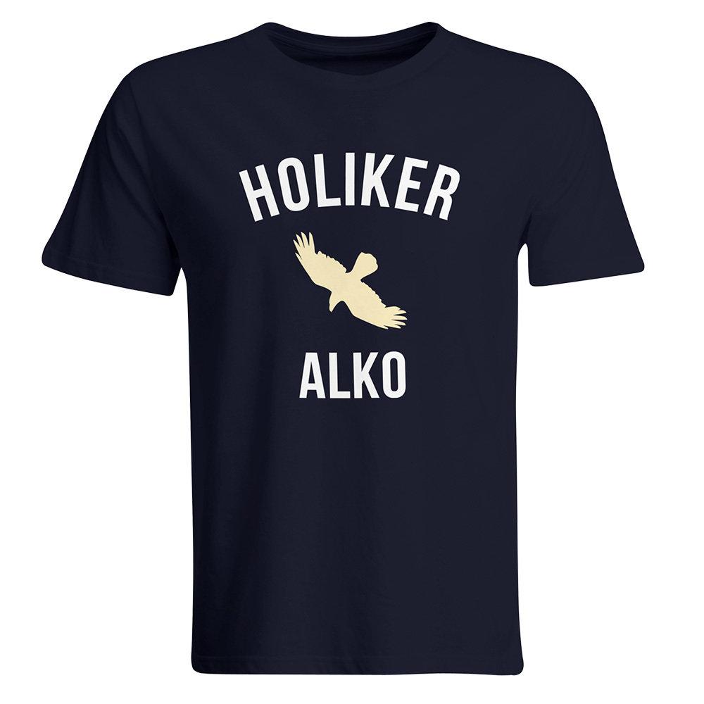 """Holiker Alko T-Shirt (Parodie auf """"Voll ist er"""" T-Shirt) 85788"""