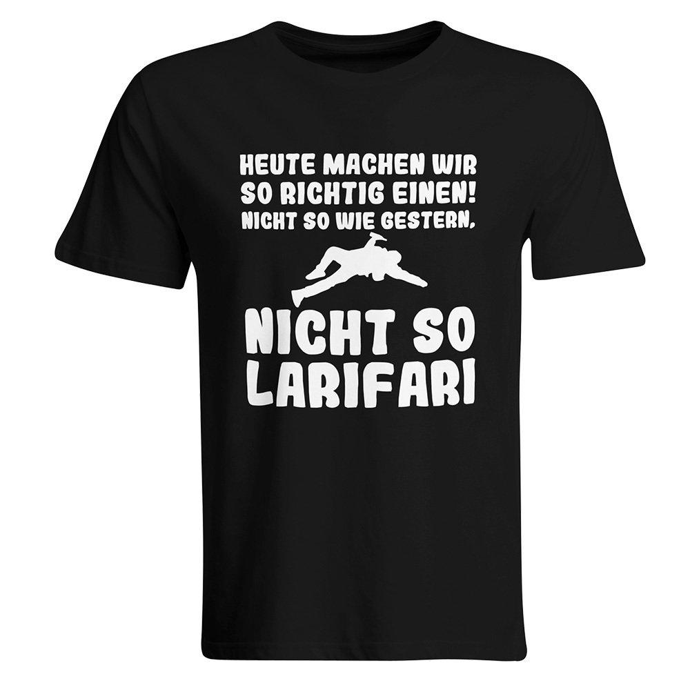 Heute machen wir so richtig einen, nicht so wie gestern, nicht so Larifari T-Shirt 85800