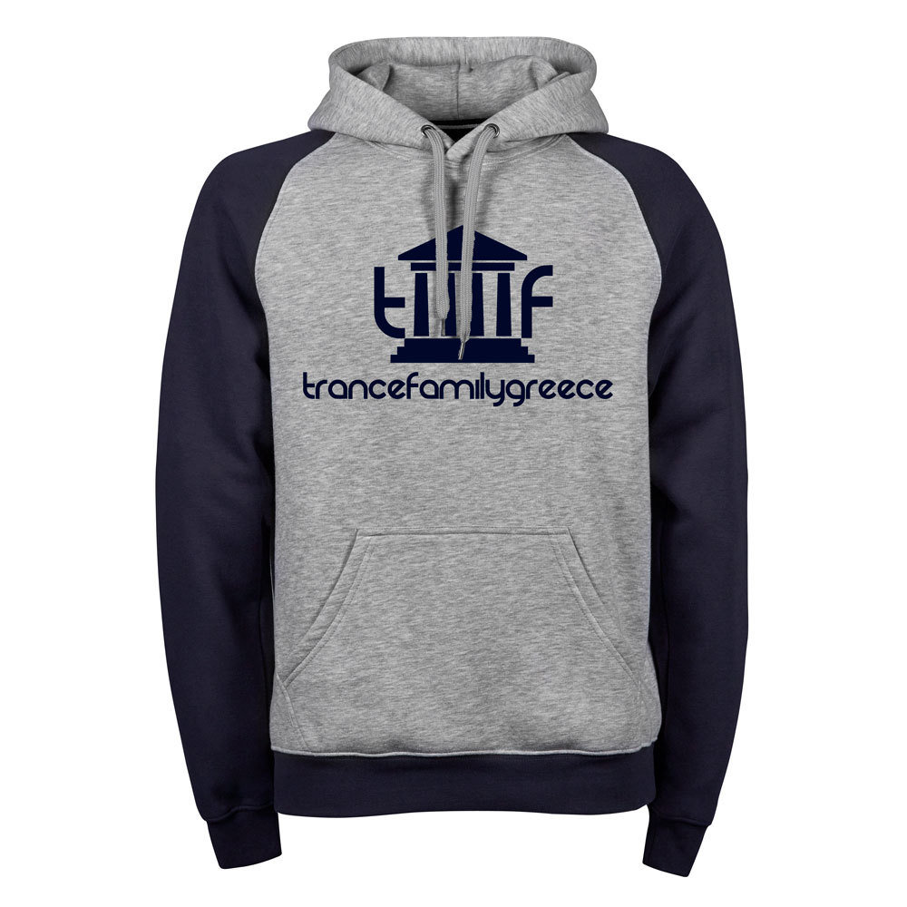 Trancefamily Greece Premium Two-Tone Hoodie (Unisex) 85811