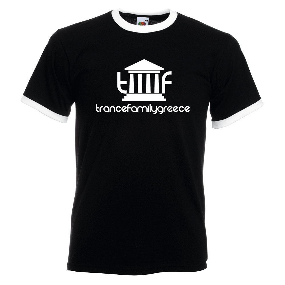 Trancefamily Greece Ringer-Shirt (Men)