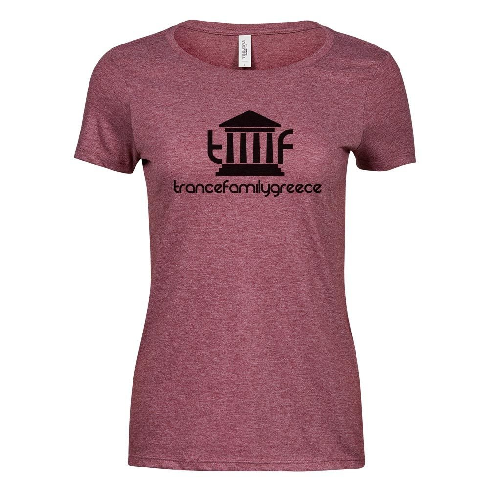 Trancefamily Greece Premium Melange T-Shirt (Women) 85818