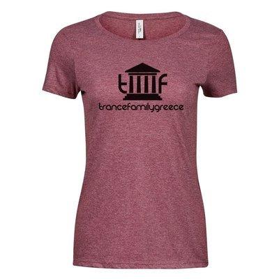 Trancefamily Greece Premium Melange T-Shirt (Women)