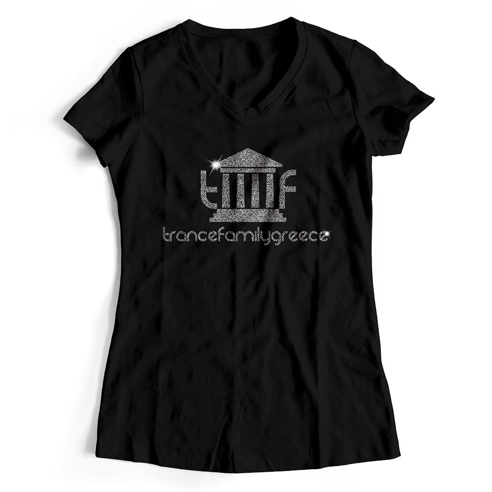 Trancefamily Greece T-Shirt MAGIC GLITTER EDITION (Women) 85820