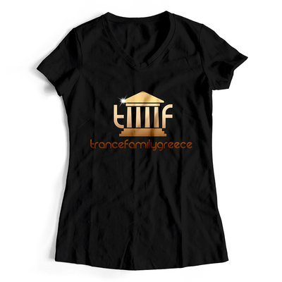 Trancefamilygreece T-Shirt GOLD EDITION (Women)