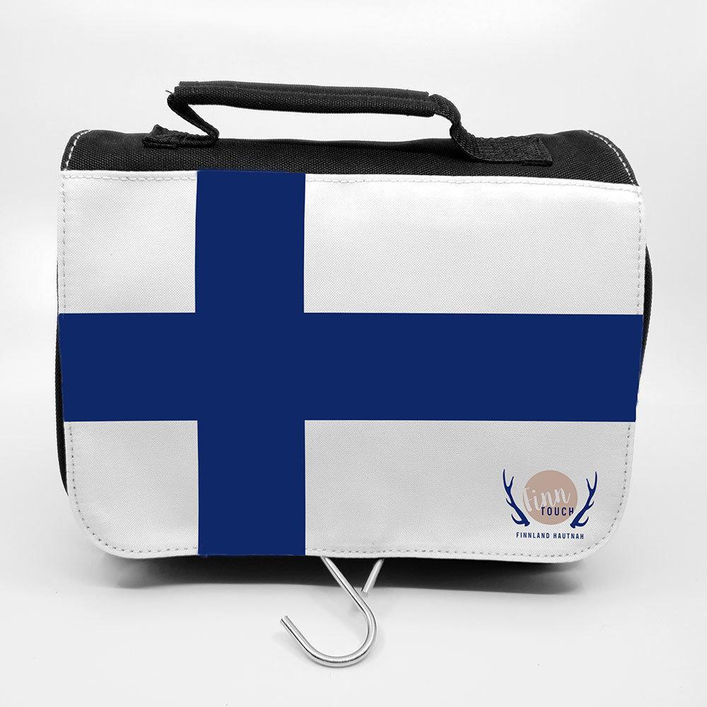 """""""Finnland-Flagge"""" Kulturbeutel M1-FT 38783"""