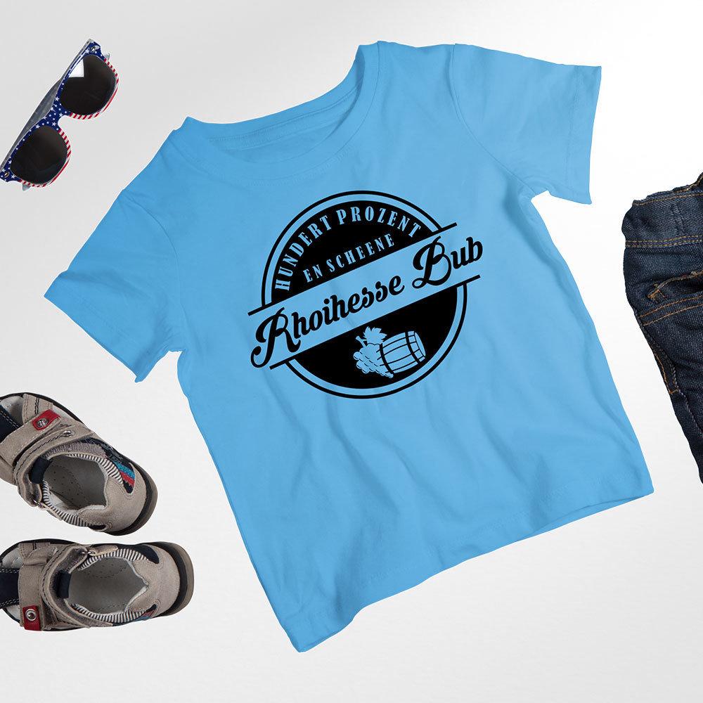 """Kinder T-Shirt """"Hundert Prozent..."""" (Mädchen & Jungen) M1-RHL 66815"""