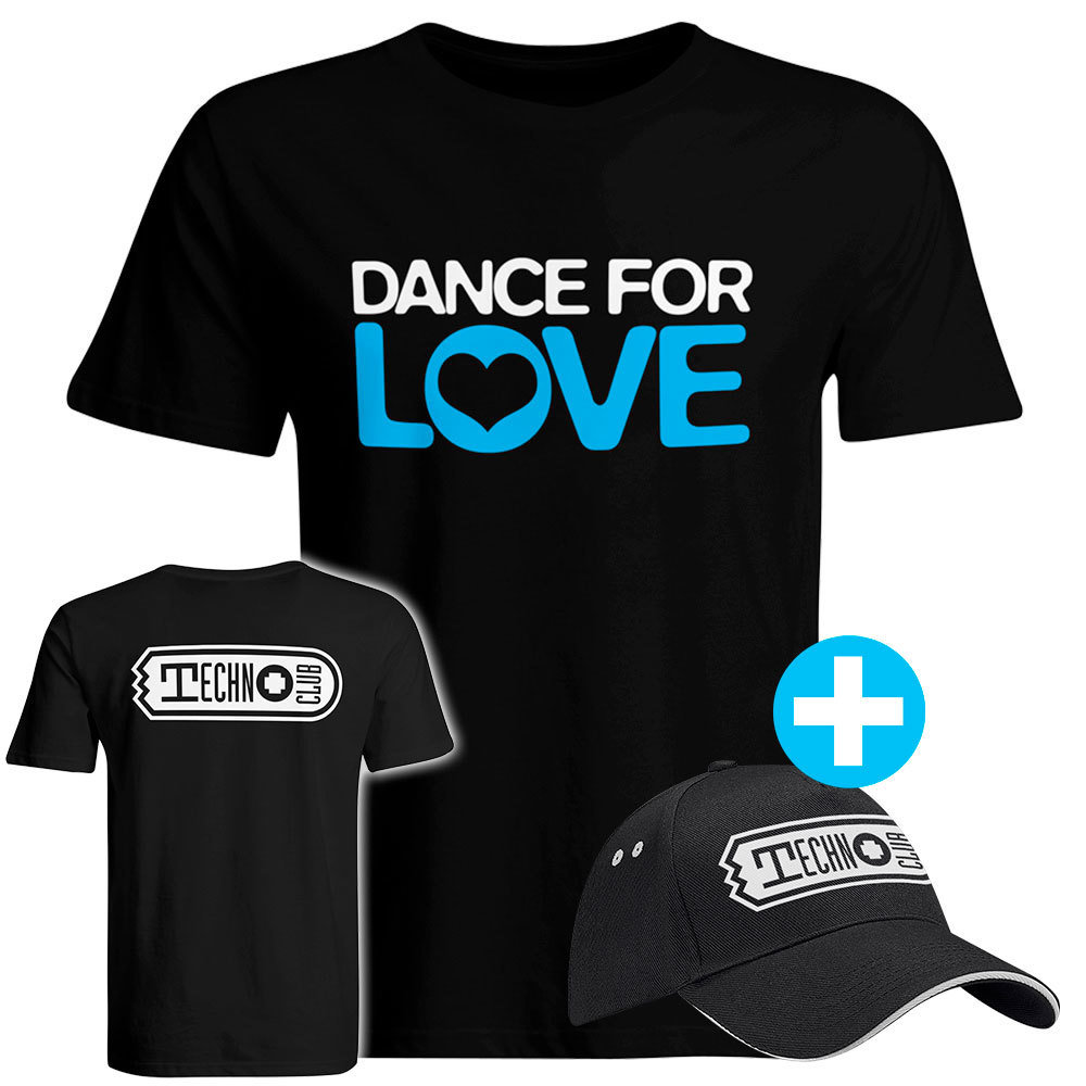 DANCE FOR LOVE Fanset T-Shirt (Men) + Basecap 80131