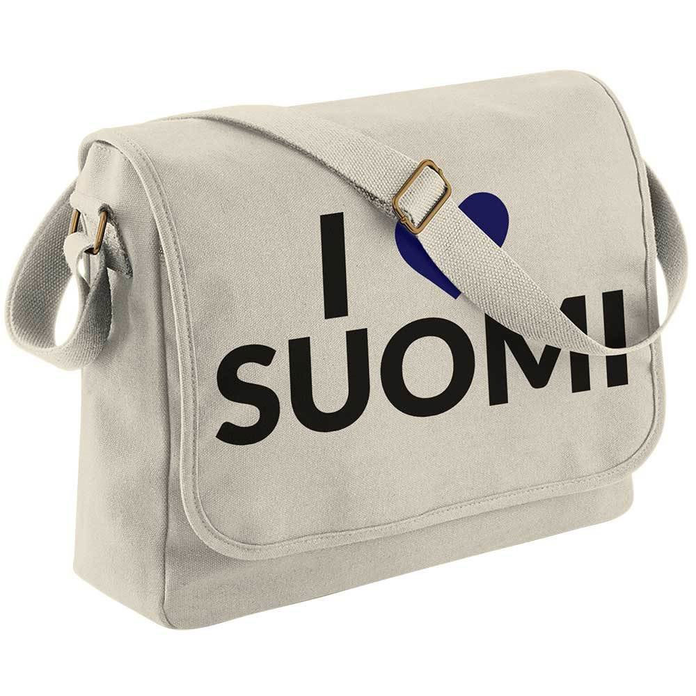 """I love Suomi"" Canvas Messenger Mag M1-FT 12193"