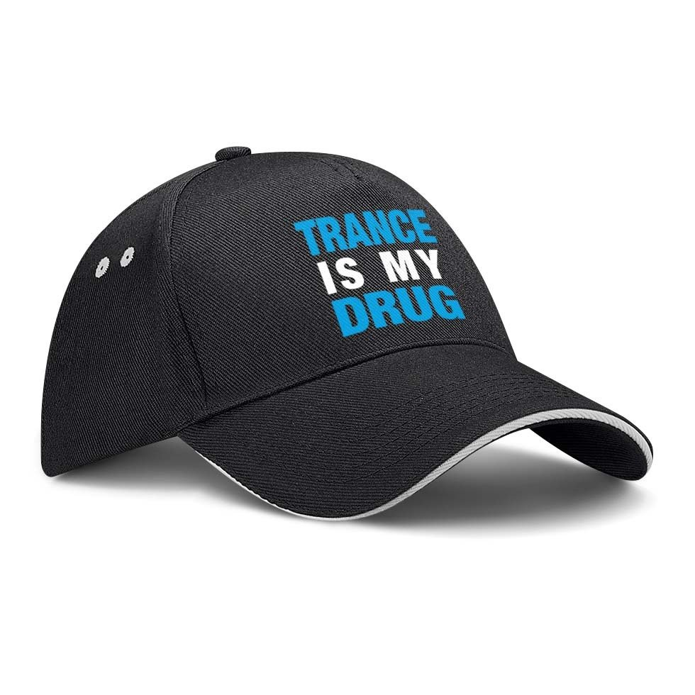 Trance is my Drug Basecap M1-TFC 91871