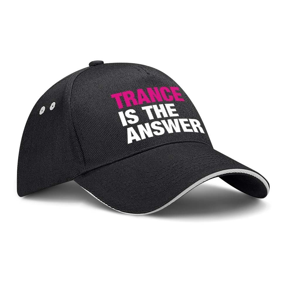 Trance is the answer Basecap (Version 2) M1-TFC 77308