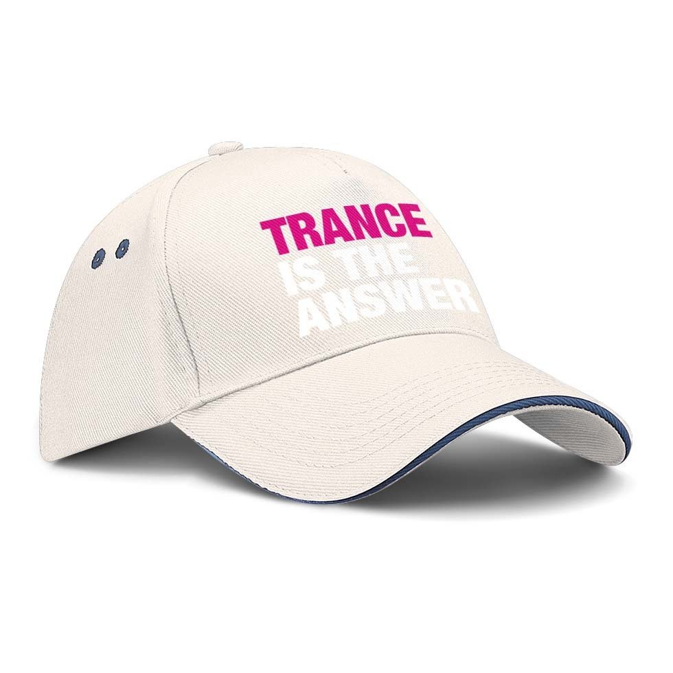 Trance is the answer Basecap (Version 2)