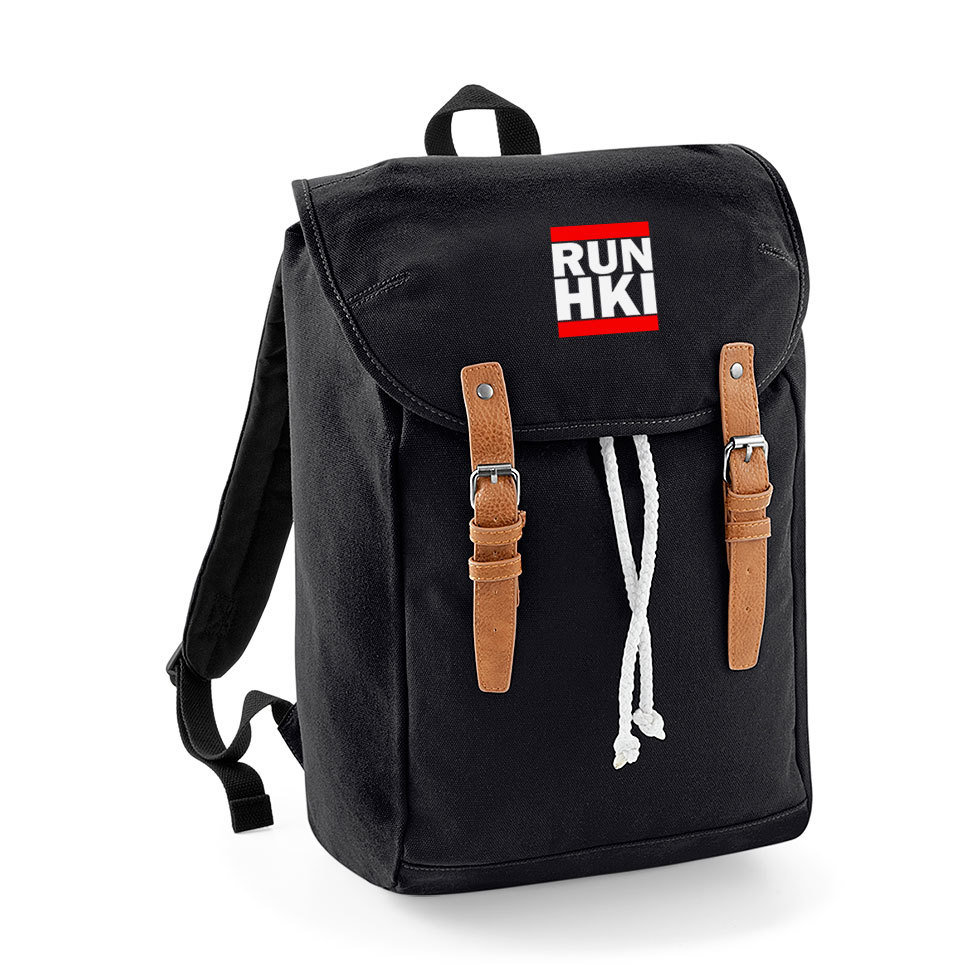 """RUN HKI"" Vintage Rucksack M1-FT 32799"