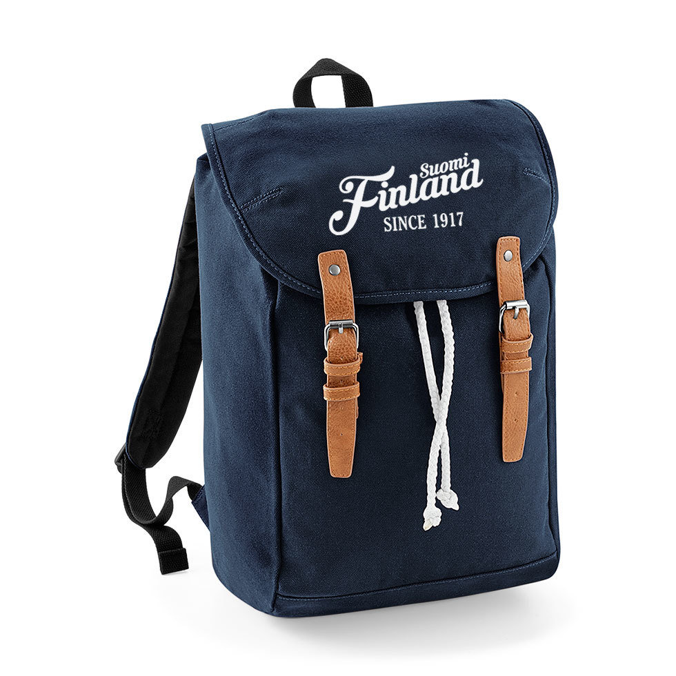 """Suomi Finland - since 1917"" Vintage Rucksack M1-FT 91349"