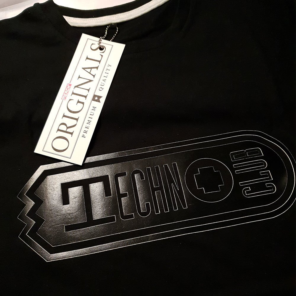 Technoclub Duo-Tone Exclusive T-Shirt (Herren) *NEU* 91887