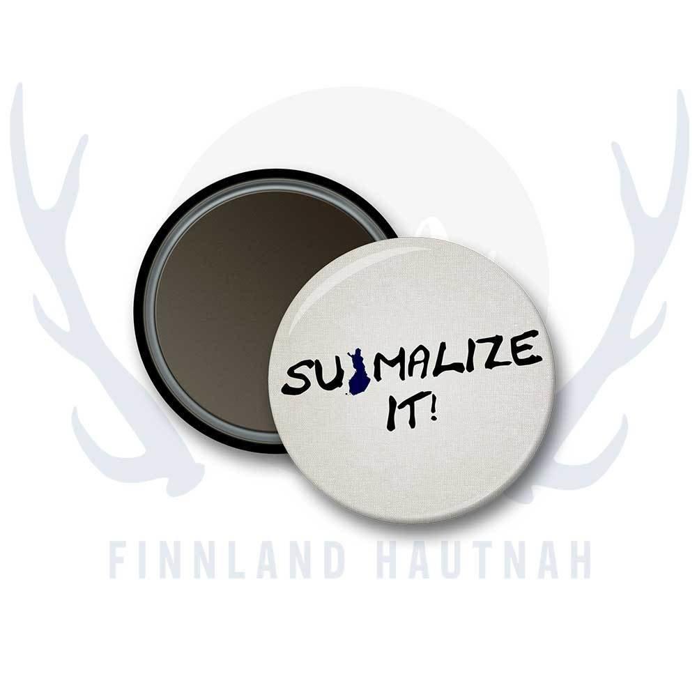"Finnland Magnet ""Suomalize it"" 91892"