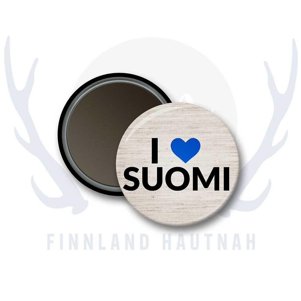 "Finnland Magnet ""I love Suomi"" 91897"