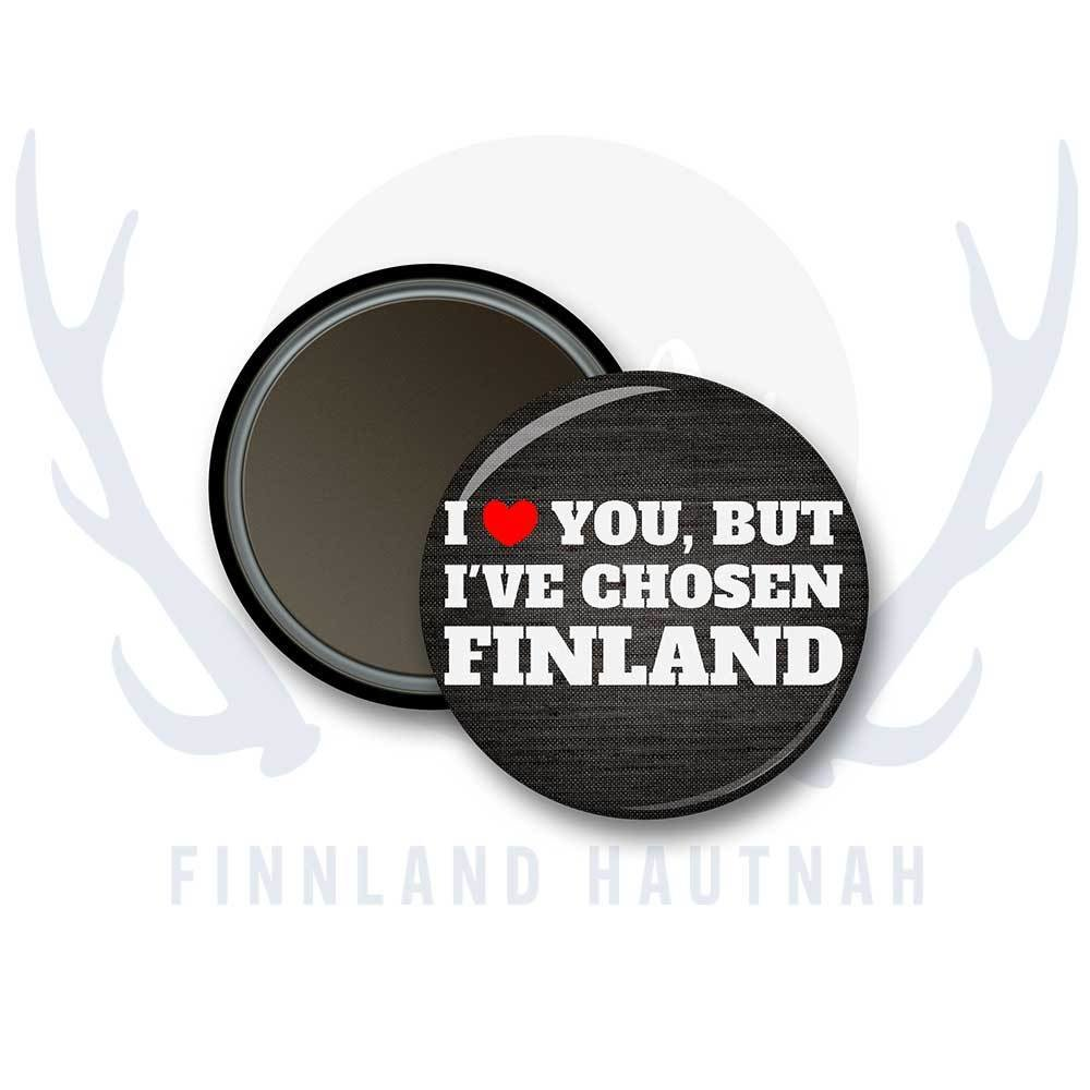"Finnland Magnet ""I love you..."" 91901"