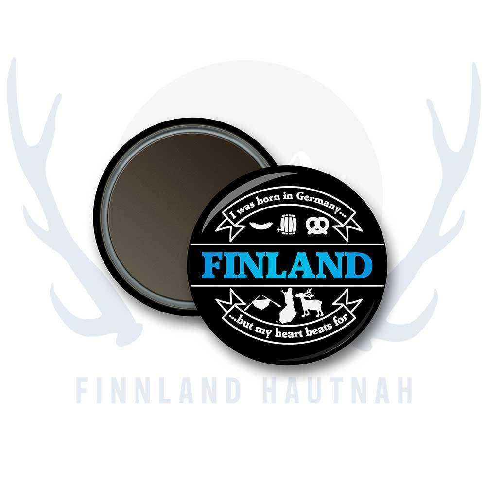 "Finnland Magnet ""I was born in germany..."" 91902"