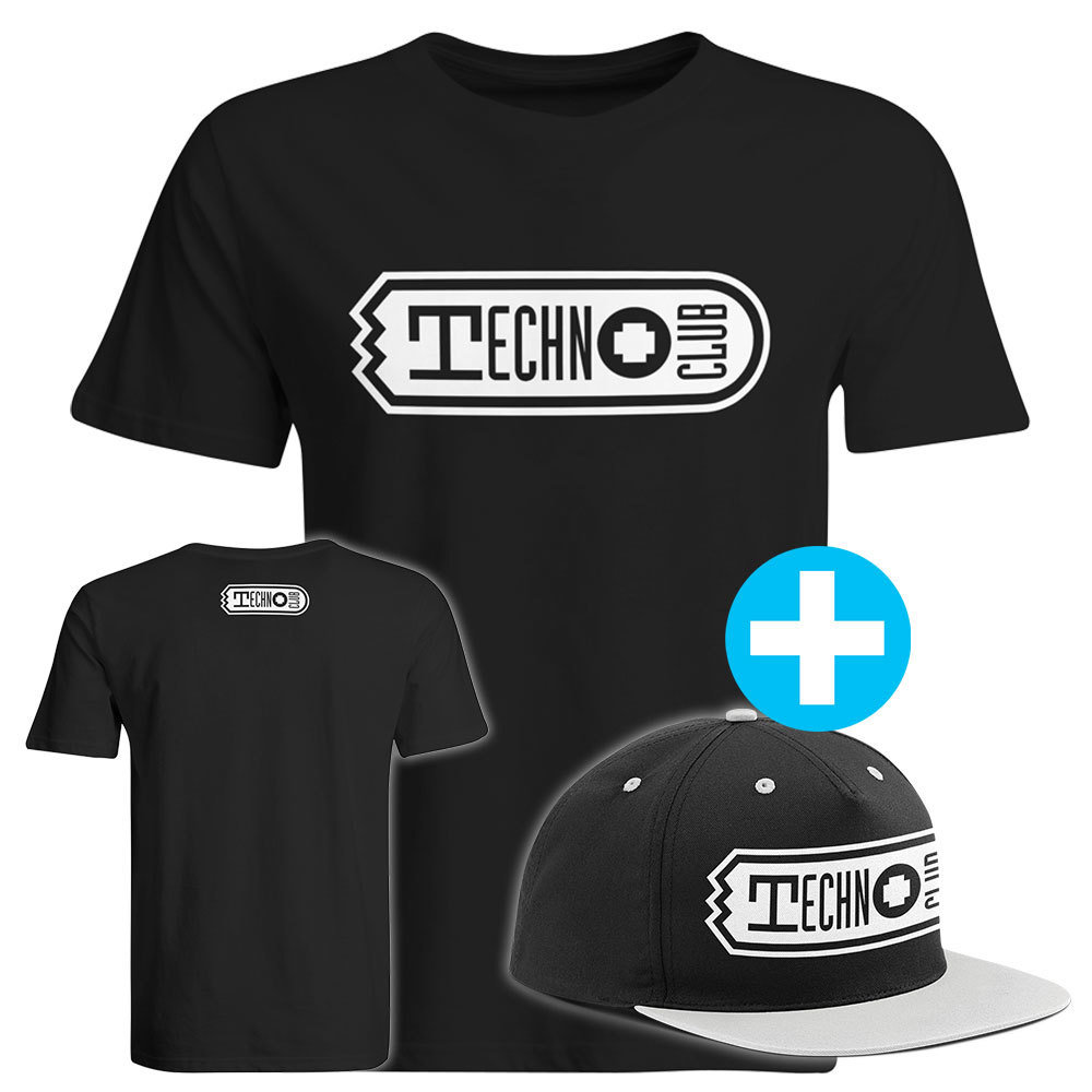 Technoclub T-Shirt + Snapback (Men) 91910