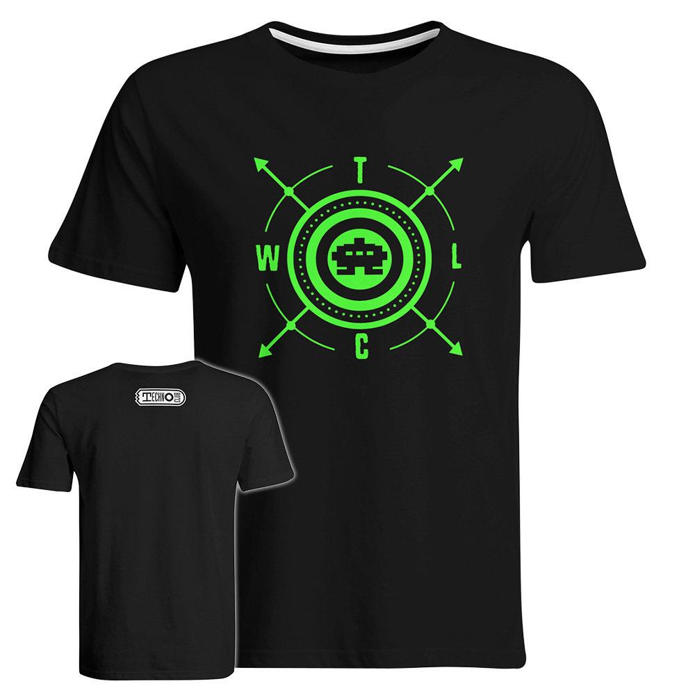 Herren Neon-Green