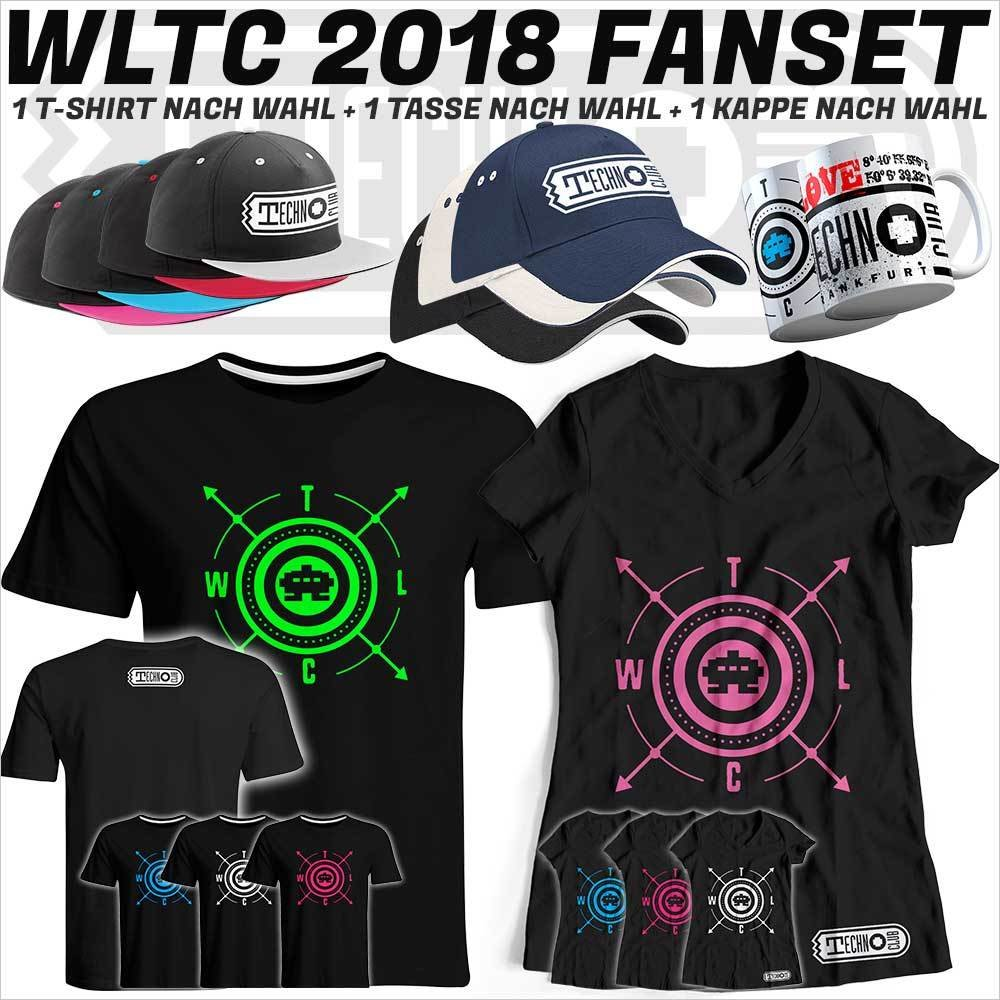 We love Technoclub 2018 Fanset (T-Shirt, Kappe & Tasse) 91916