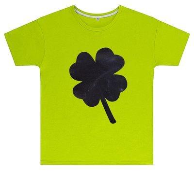 Kreideshirt mit Klee-Motiv inkl. 12er-Pack Kreide