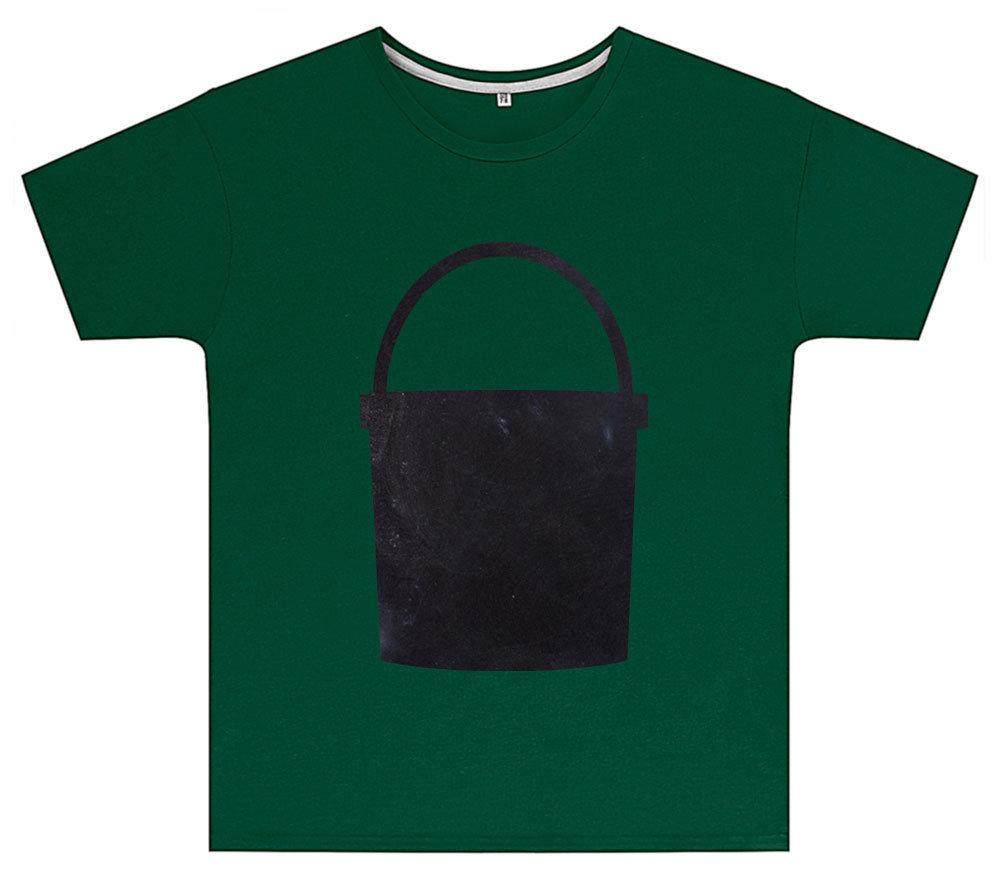Kreideshirt mit Eimer-Motiv inkl. 12er-Pack Kreide 91937