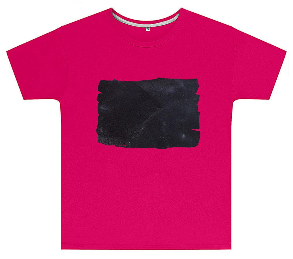 Kreideshirt mit Tafel-Motiv inkl. 12er-Pack Kreide 91929