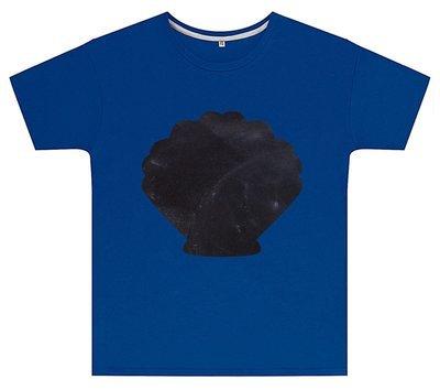 Kreideshirt mit Muschel-Motiv inkl. 12er-Pack Kreide