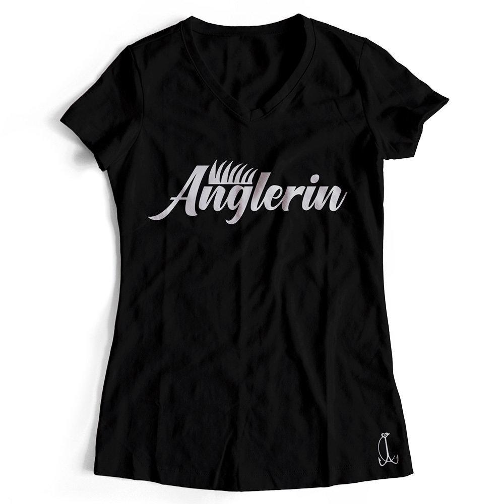 """""""Anglerin & Anglerin / Schwester & Schwester"""" T-Shirt Partnerset (Kindergröße 90 bis XXL)"""
