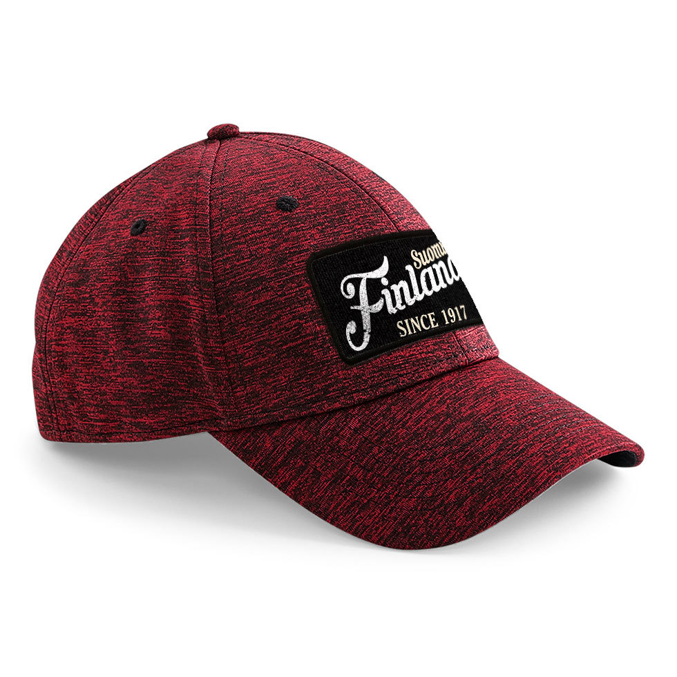 """""""Suomi Finland - since 1917"""" Stretch-Fit Basecap"""