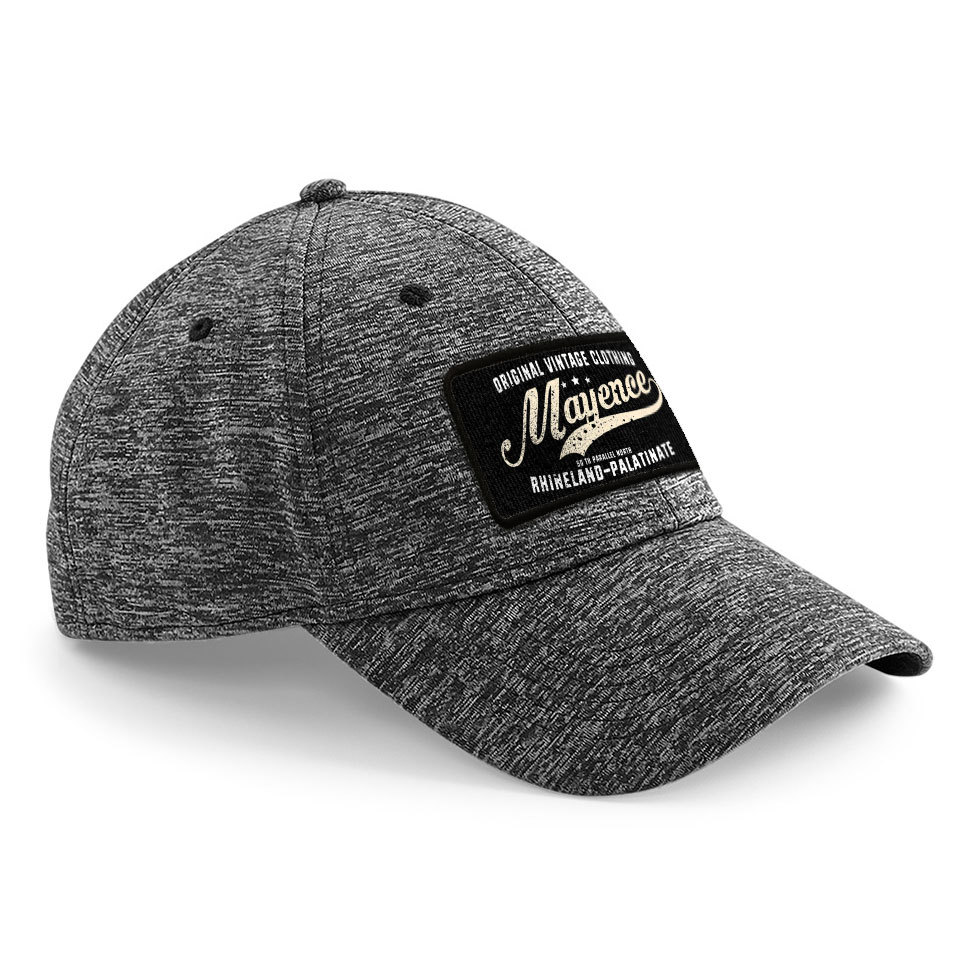 """50 th parallel North - Mayence"" Stretch-Fit Basecap"