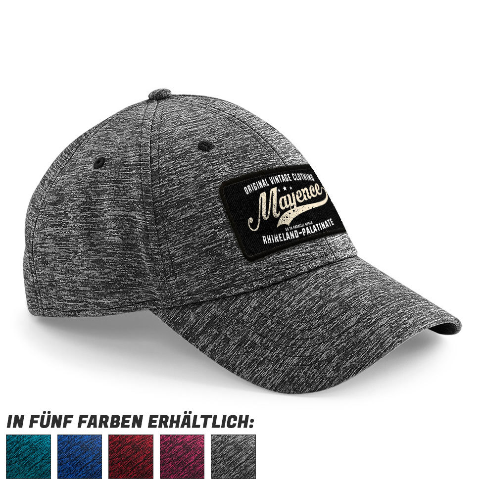 """50 th parallel North - Mayence"" Stretch-Fit Basecap 82991"
