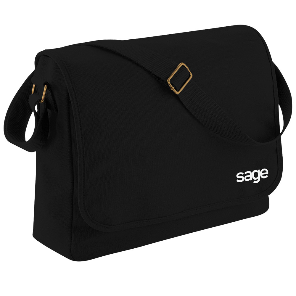 SAGE Canvas Messenger Tasche
