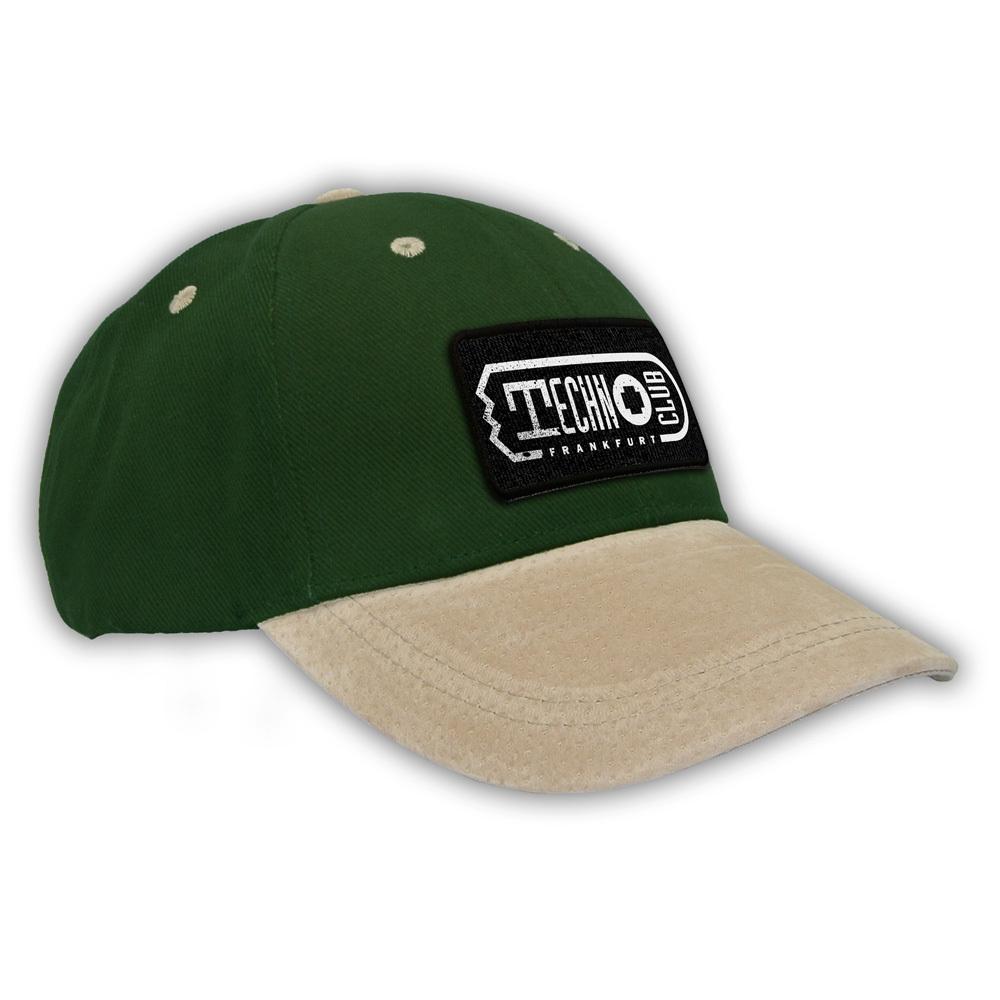 Technoclub Basecap (Wildleder)