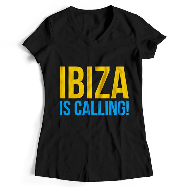 Ibiza is calling! (#trancefamily T-Shirt Women)