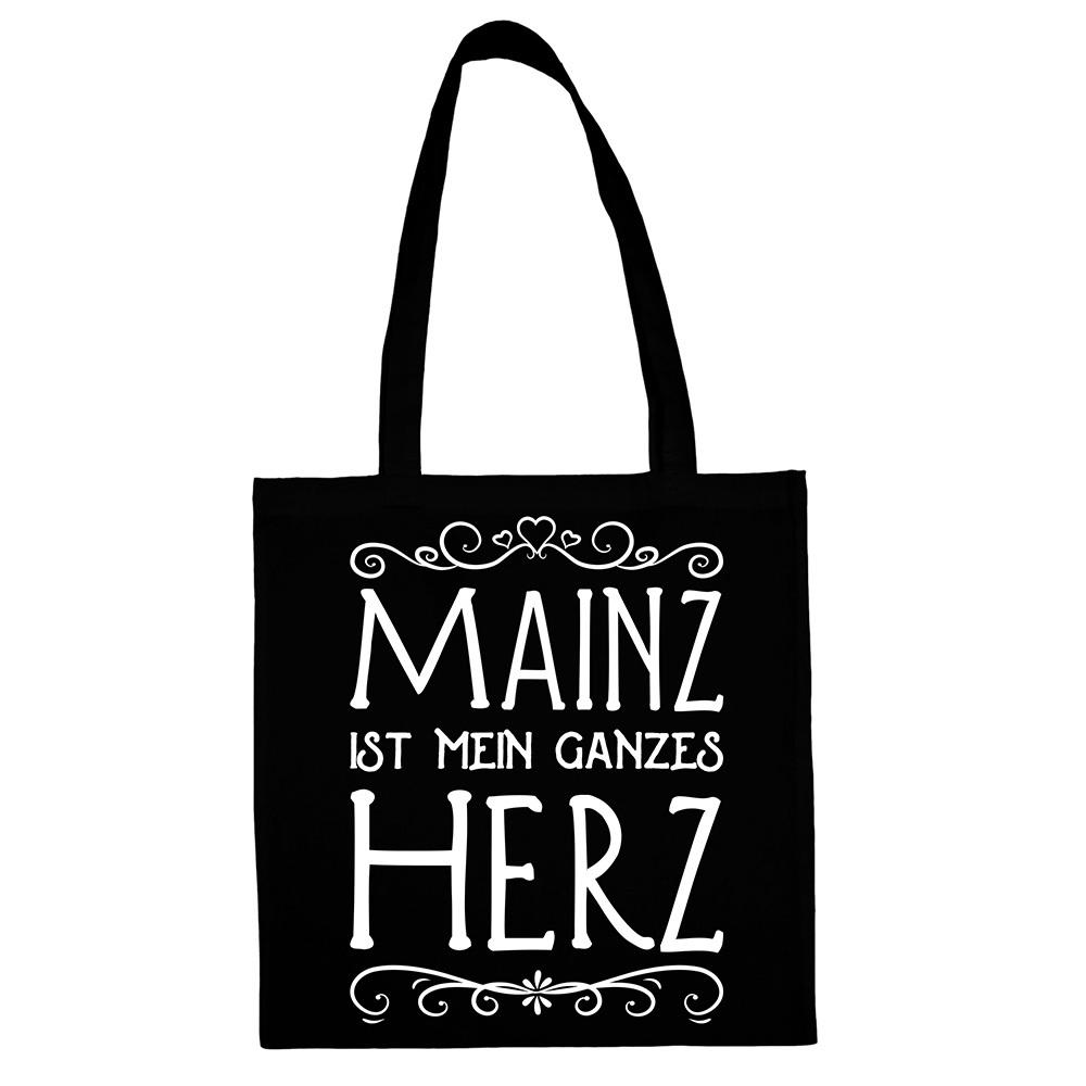 """""""Mainz ist mein ganzes Herz"""" Jute Beutel M1-RHL 66881"""