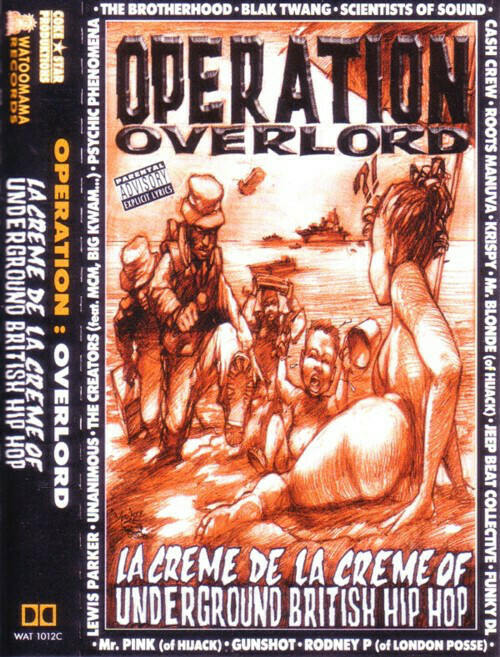 "[Cassette] Compilation ""OPERATION OVERLORD - La Crème De La Crème Of British Hip-Hop"""