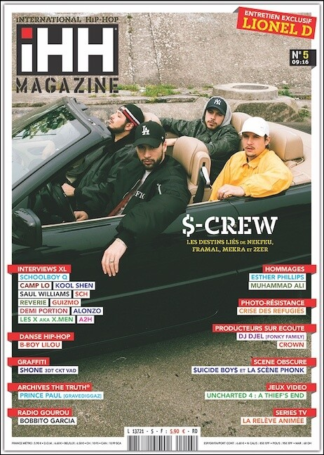 iHH™ MAGAZiNE  n° 5 (issue #5) >> 116 pages ! S.CREW + etc.