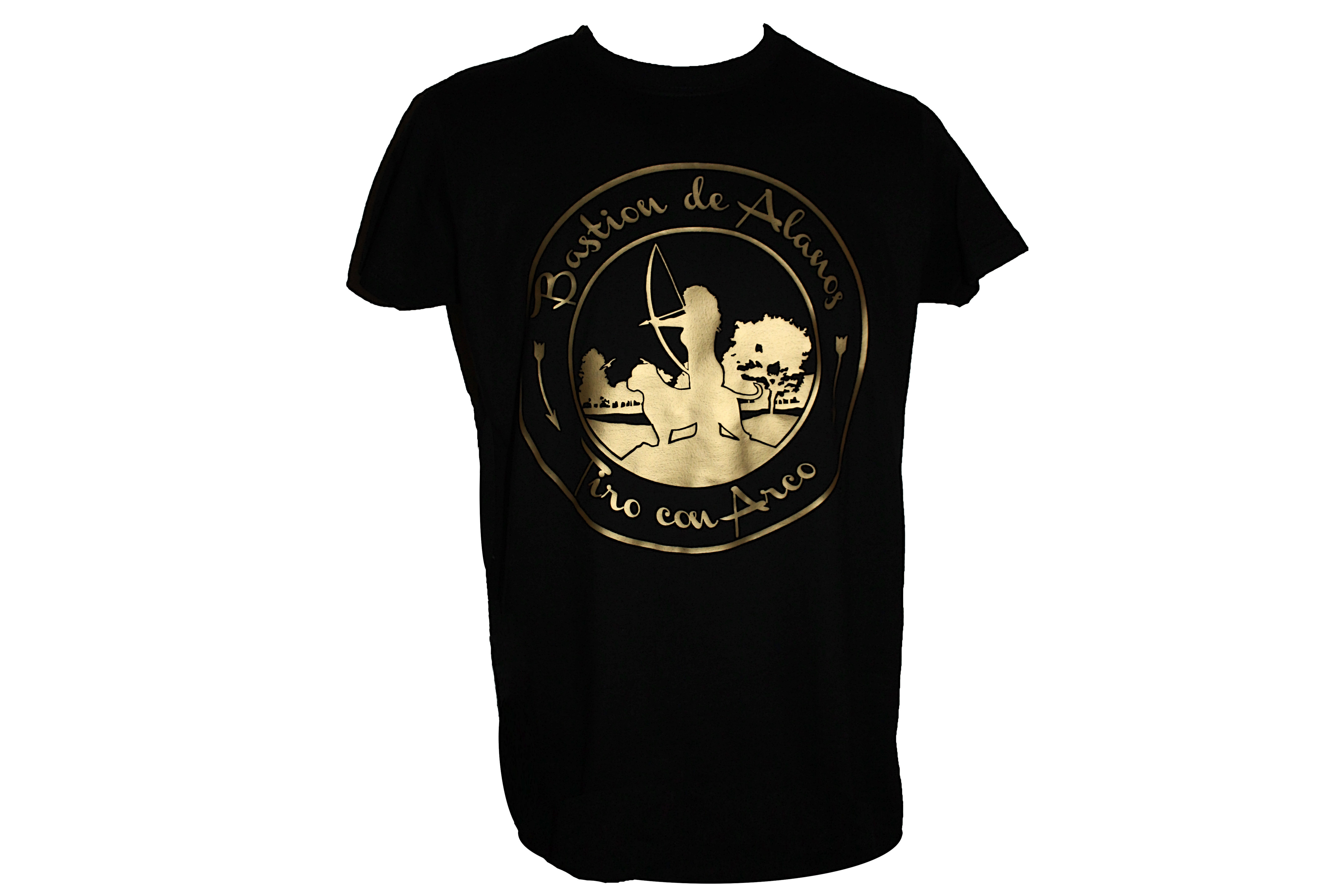 Camiseta Logo Dorado 00004