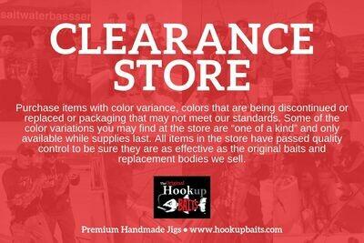 CLEARANCE - Hookup Baits Large Jig