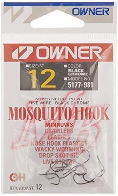 Owner Mosquito Hook #12