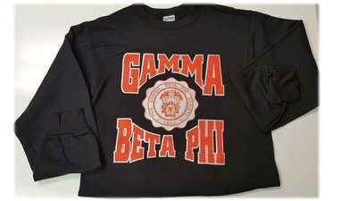 Gamma Beta Phi Black Sweatshirt