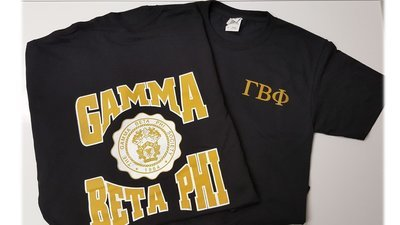 Gamma Beta Phi Black T-shirt
