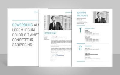 Bewerbungsvorlage Amelio (für Word, OpenOffice und Google Docs)
